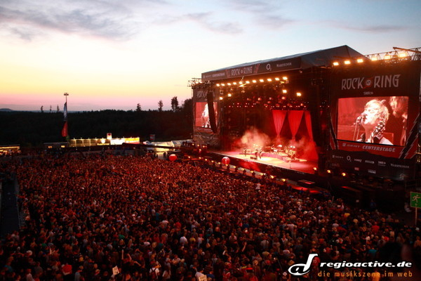 der freitag am ring - Rock am Ring 2011: Fotos von Selig, Mando Diao, Wolfmother, den Kings of Leon u.a.