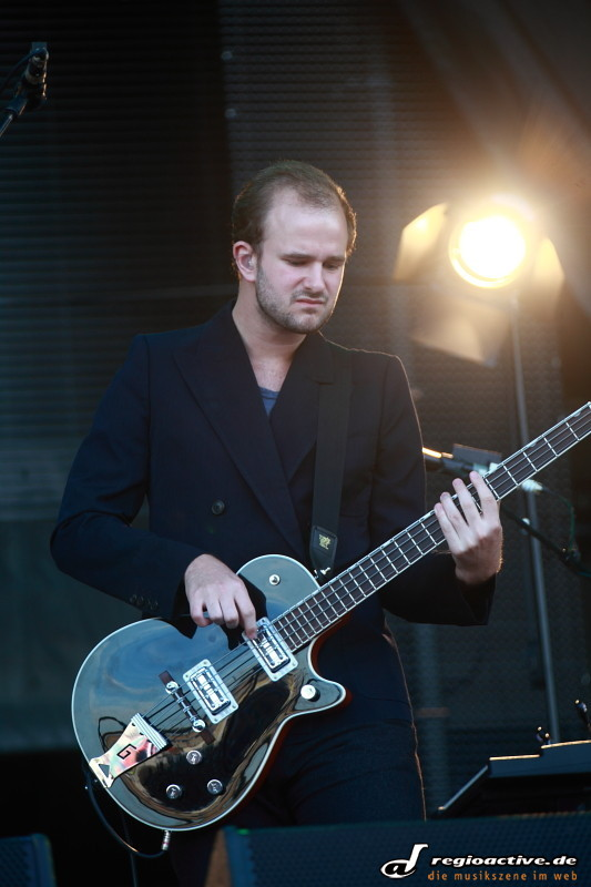 White Lies (live bei Rock am Ring 2011 Freitag)