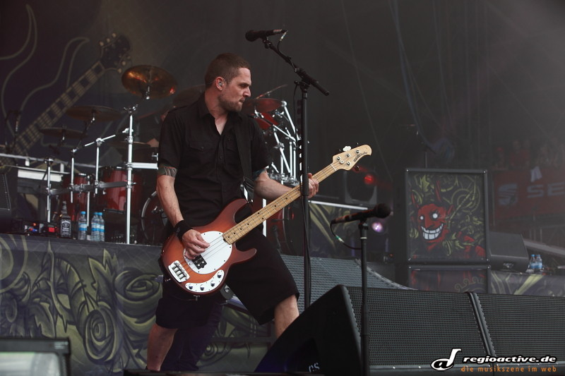 Volbeat (live bei Rock am Ring 2011 Sonntag)