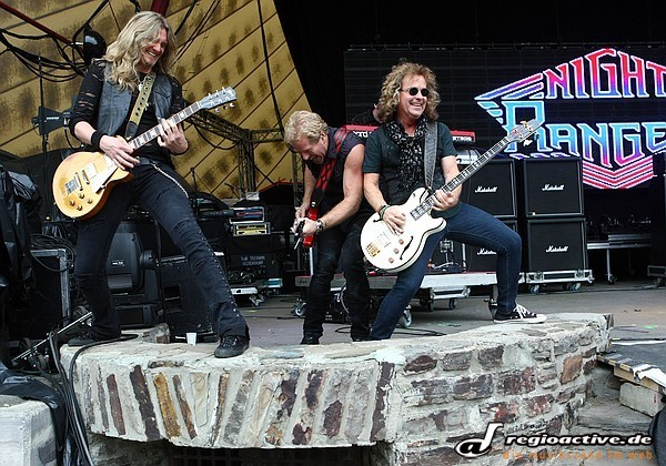 Aufbrausend - Fotos: Night Ranger live bei Rock the Nation 2011 auf der Loreley